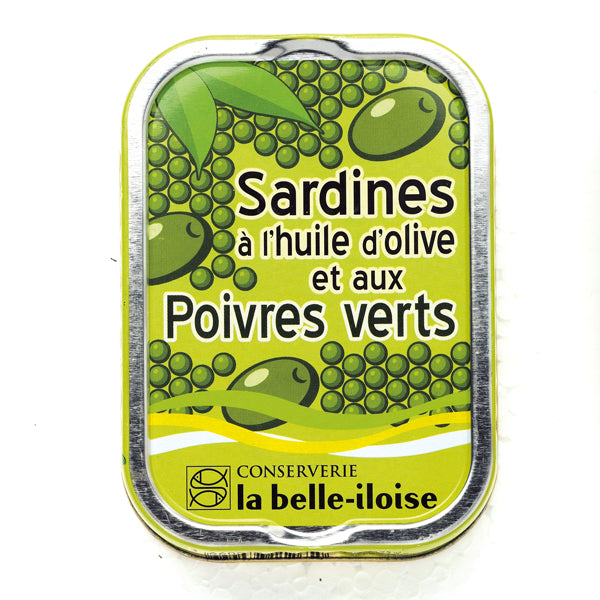La Belle Iloise Sardines In Olive Oil and Green Pepper 115g