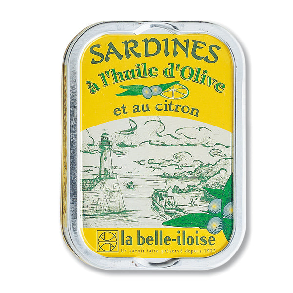 Sardines Olive/Lemon Oil 115g