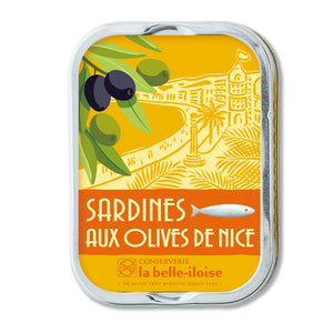 La Belle Iloise Sardines with Olive From Nice 115g