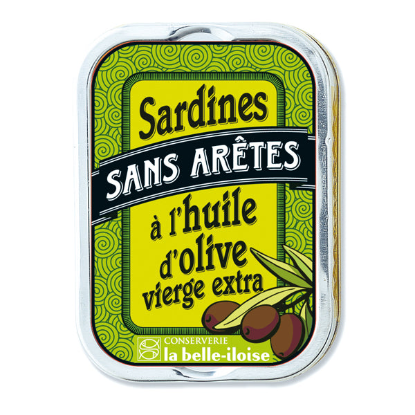 La Belle Iloise Filleted Sardines In Extra Virgin Olive Oil 115g
