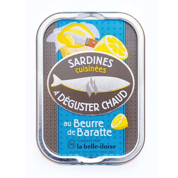 La Belle Iloise Cooked Sardines with Butter 115g