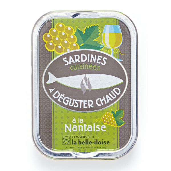 La Belle Iloise Cooked Sardines In Nantaise Sauce 115g