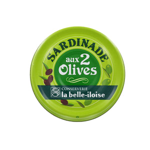 La Belle Iloise Sardinade with 2 Types of Olives 60g