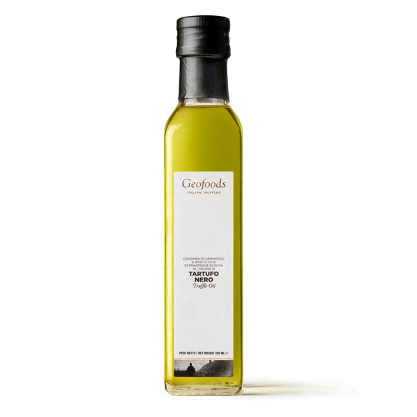 Geofoods Black Truffle Oil in Bottle