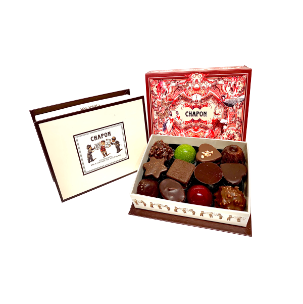 Chapon Assorted Chocolates x 24 Xmas Box 235g