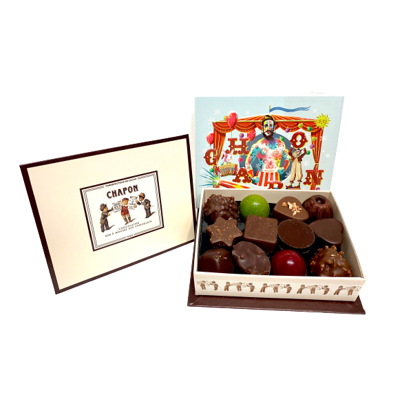 Chapon Assorted Chocolates x 24 Circus Box 235g