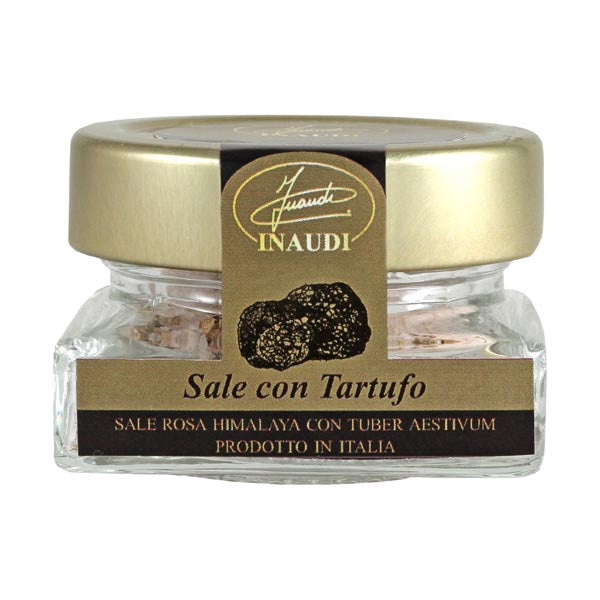Inaudi Himalaya Pink Salt with Black Truffle