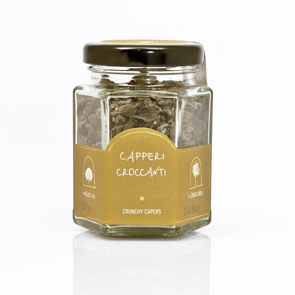 Crunchy caper glass jar 30g