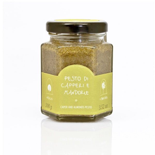 Capers pesto glass jar 100g