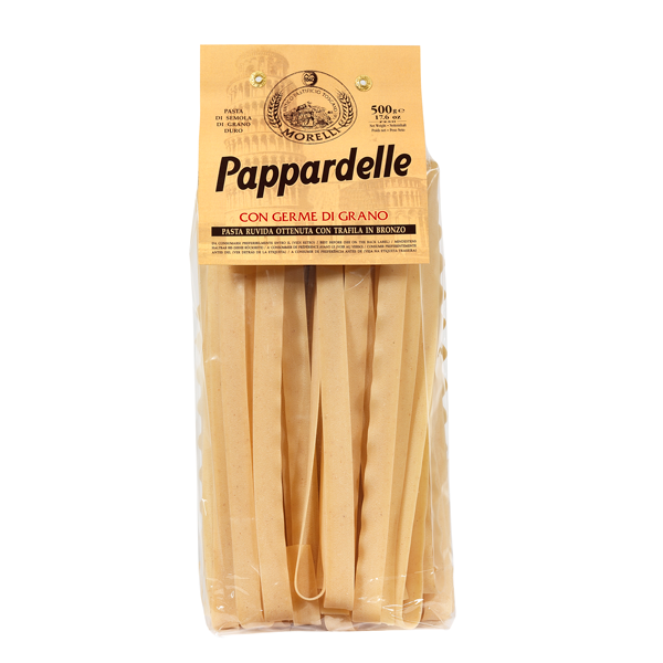 Morelli Pappardelle with Wheat Germ 500g