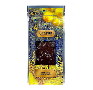 Chapon Dark Chocolate Bar with Cervia Salt Cuba 74%   75g