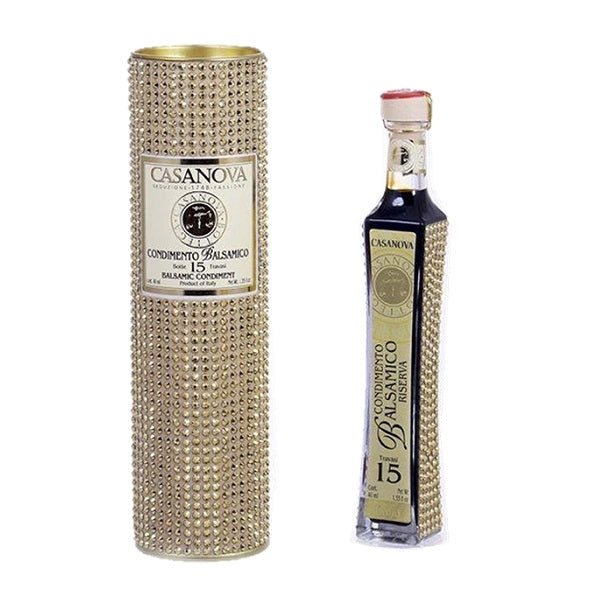 Casanova Balsamic 15year Gold Crystal Small Tube 40ml