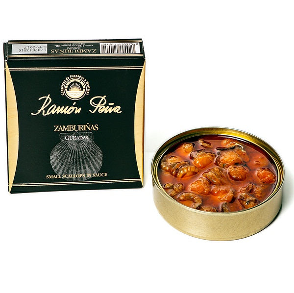 Ramon Pena Small Scallops in Sauce 130g