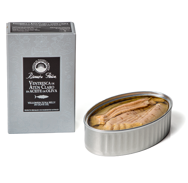 Ramon Pena Yellowfin Ventresca Belly in Olive Oil Silver 110g