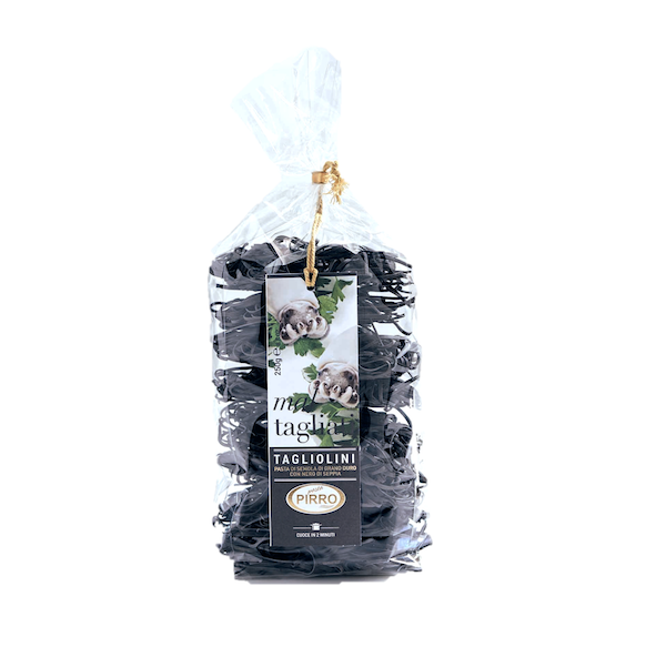 Tagliolini Squid Ink Bag 250g