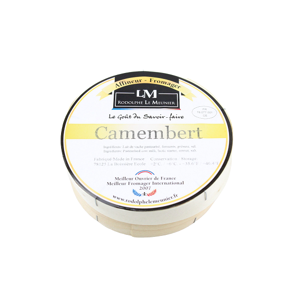 Rodolphe Le Meunier Camembert Cheese 250g