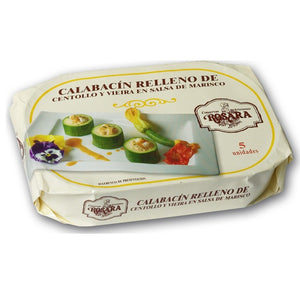 Rosara Zucchini with Sea Crab and Scallops 250g