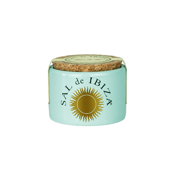 Sal de Ibiza Grain Salt Ceramic Pot