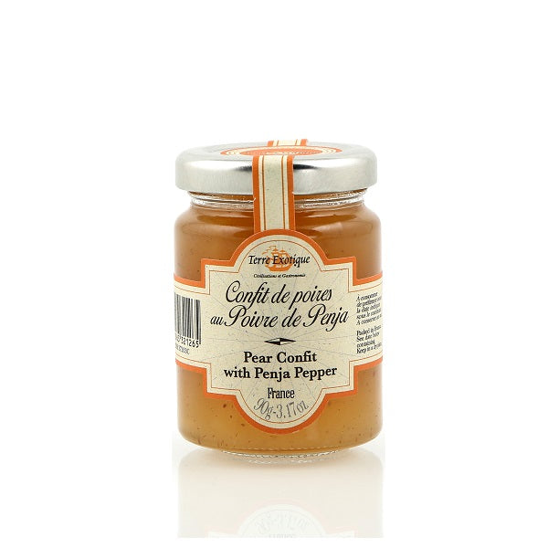 Terre Exotique Pear Chutney With Penja Pepper 90g