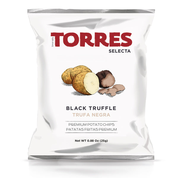 Patatas Torres Black Truffle Chips