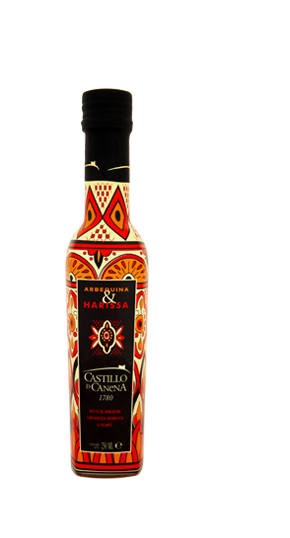 Castillo de Canena Arbequina and Harissa  EVOO 250ml