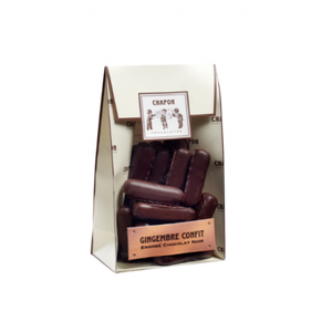 Chapon Dark Chocolate Coated Candied Ginger150g