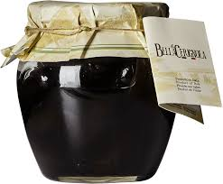 Fratepietro Black Cerignola Olives in Jar 2kg