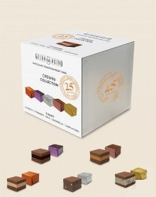 Guido Gobino 25th Assorted 5 Flavours Cremino Chocolate  Cube 160g