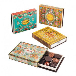 Chapon Kashmir Delights 12 Assorted Chocolates in Gift Box 108g
