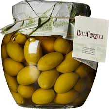 Fratepietro Green Cerignola Olives in Jar 1050g