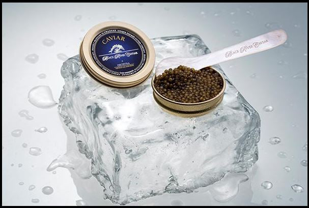 Black River Russian Oscietra Caviar -Imperial  100g