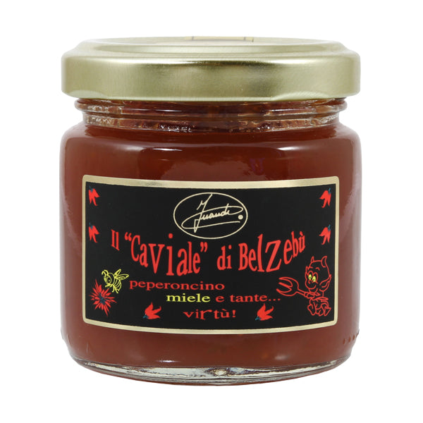 "InAudi ""Caviale di Belzebù"" Chilli Pepper & Honey Sauce 100g"
