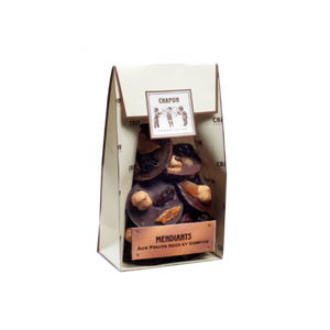 Chapon Dark Chocolate with Mixed Dried Fruits and Nuts 120g