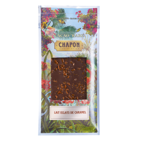 Chapon Tablette Lait with Salted Caramel 75g