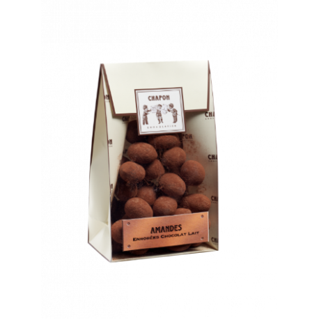 Chapon Caramelised  Milk Chocolate Coated Almonds 150g