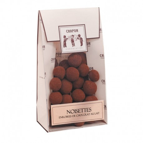 Chapon Caramalised Milk Chocolate Coated  Hazelnuts 150g