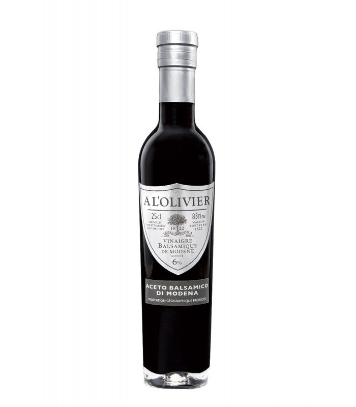 A L'Olivier Organic Balsamic Vinegar 250ml.