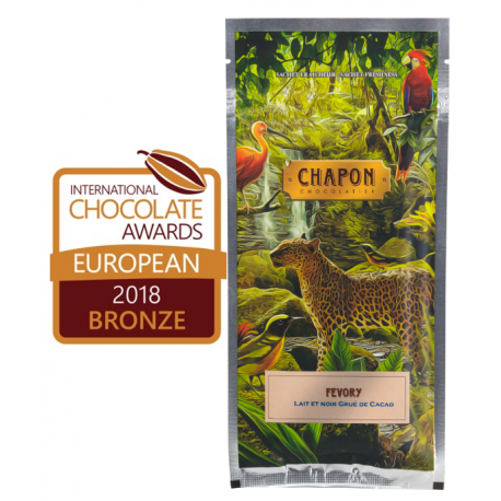 Chapon Fevory Dark Chocolate Bar 75g