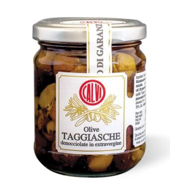 Calvi Taggiasca Olives Pitted in EVOO
