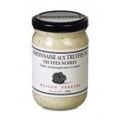 Pebeyre Mayonnaise with Black Truffle 3% 180gr