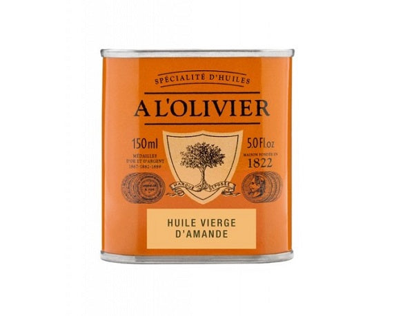 A L'Olivier Virgin Almond Oil 150ml.