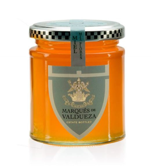 Marques de Valdueza Raw Wildflower Honey 256ml