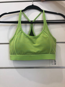 Lime Green Sports Bra - Ladies