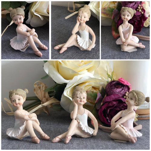 Ballet girl figurines.