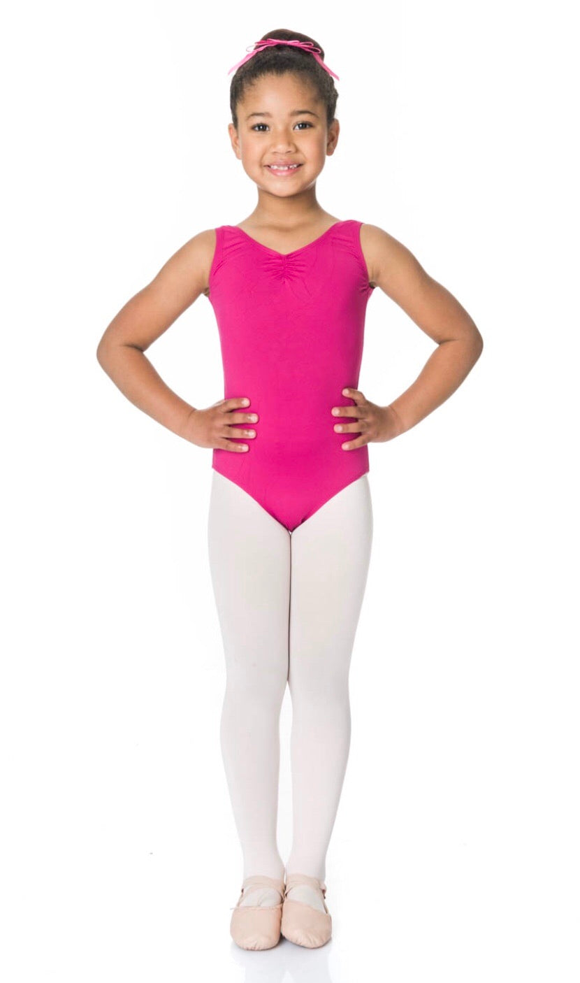 Children's thick strap Leotard