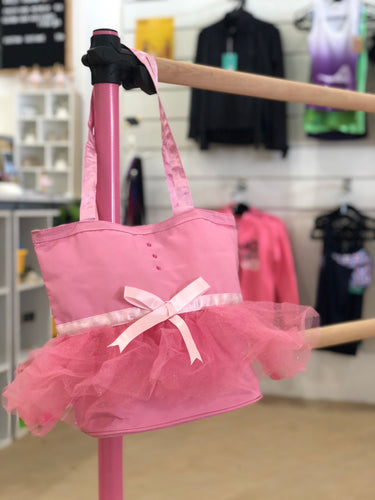 Tutu handbag, little girls tutu bag, ballet bag