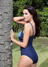 Load image into Gallery viewer, Navy Ombré swimsuit