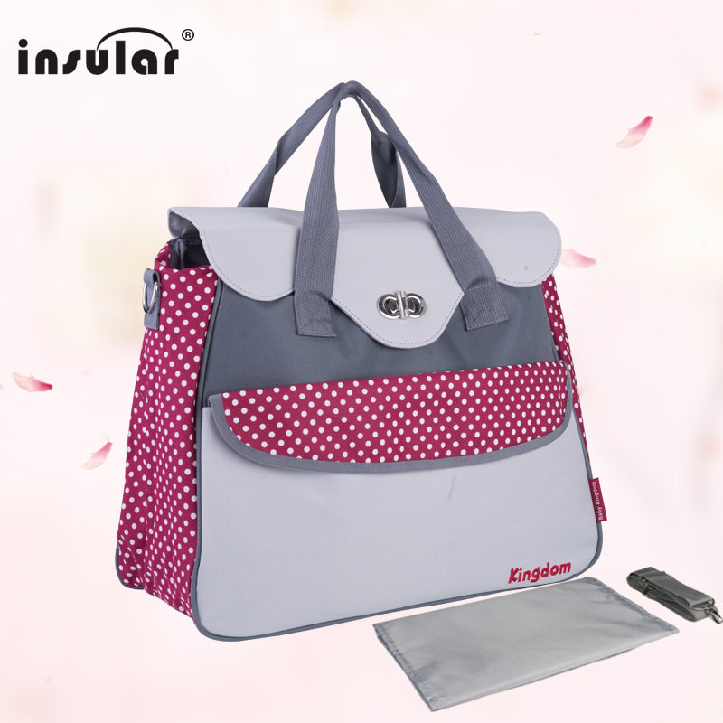 cb20d16265 ... Insular Fashion Baby Diaper bags for Stoller Multifunctional Maternity  Bag Casual Designer Nappy Bags Mummy Tote ...