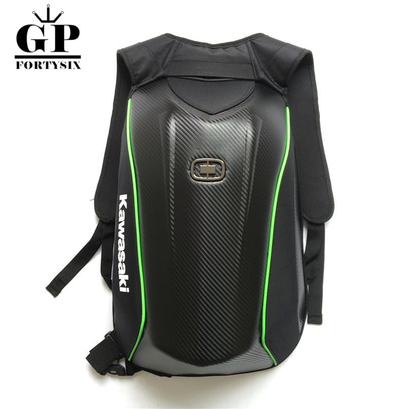 c2bb6a748881 OGIO Mach Motorcycle Riding Backpack Waterproof Carbon Fiber Hard Shell  Motorcycle Bag Motocross Luggage Backpack For Yamaha
