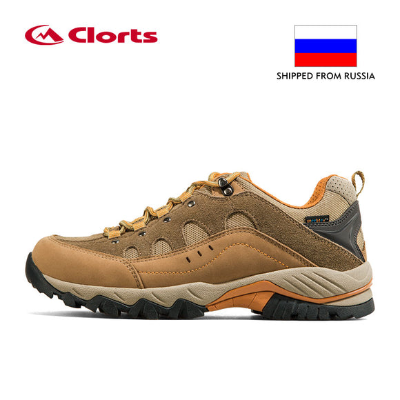 cde83c01ddd Russia Domestic Delivery Outdoor Hiking Boots Clorts Suede Leather ...